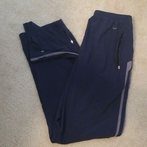 NIKE Navy Blue Fit Dry Pants
